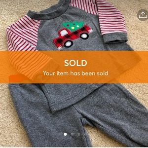 🚫SOLD🚫 3/$25 Baby Essentials Truck Outfit Set
